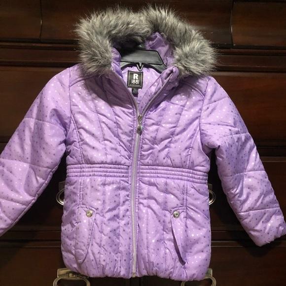 3a459f82a70e Routhschild Jackets & Coats | S Rothschild Girls Metallicprint ...